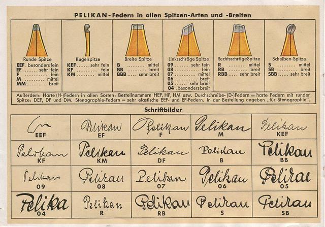 Pelikan 100N RB尖鋼筆